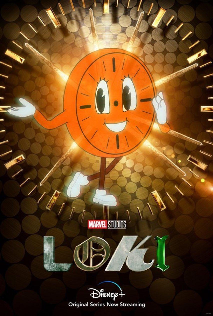 Loki Miss Minutes Character Poster