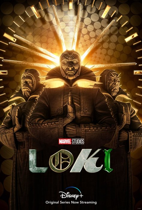 Loki Time Keepers Character Poster