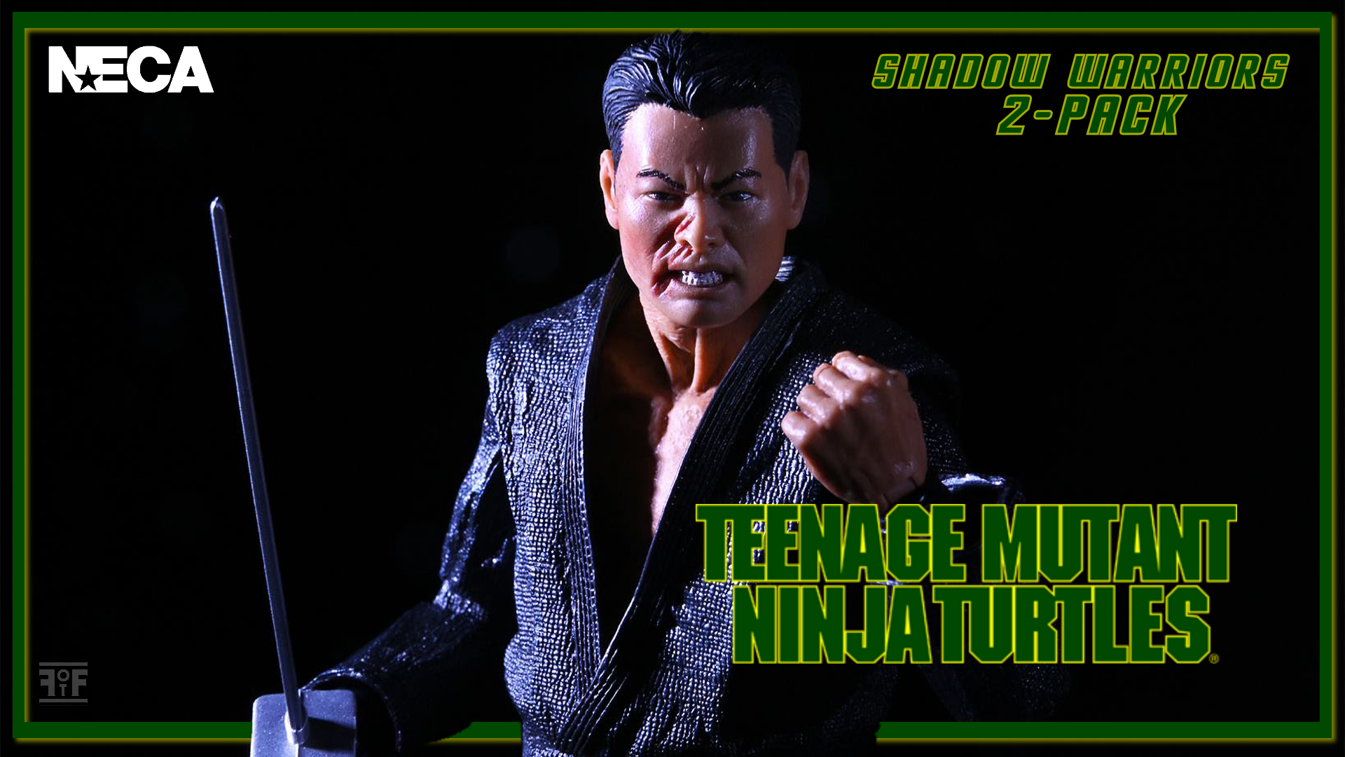 First Look | NECA Teenage Mutant Ninja Turtles 1990 'Shadow Warriors' 2-Pack