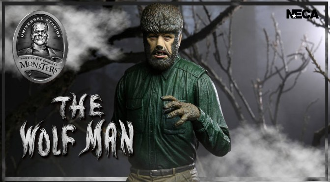 Universal Monsters | The Wolf Man Figure Announced By NECA