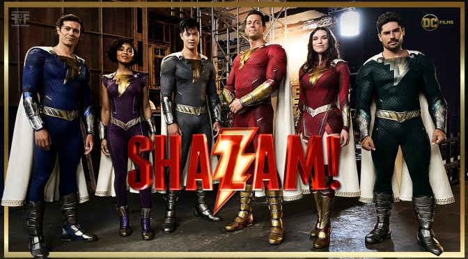 First Picture Of The Shazam Family From Shazam! Fury Of The Gods Released!