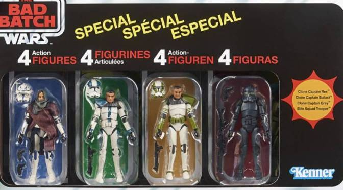 Hasbro Star Wars | The Bad Batch Vintage Collection 4 Pack Revealed