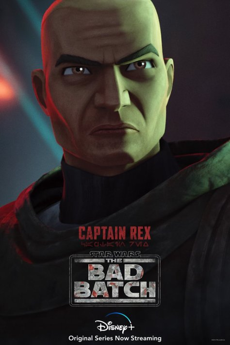 tHE bAD bATCH cAPTAIN rEX cHARACTER pOSTER
