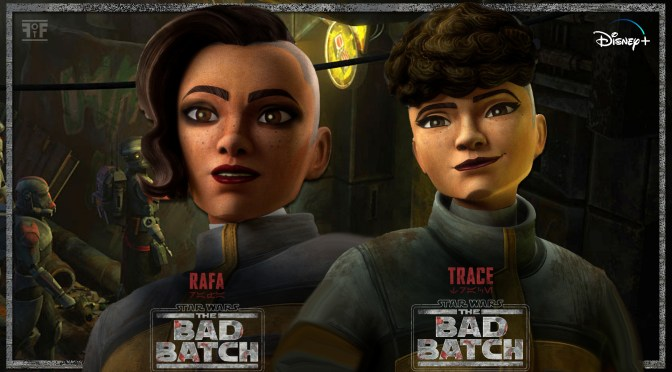 The Bad Batch | Rafa And Trace Character Posters