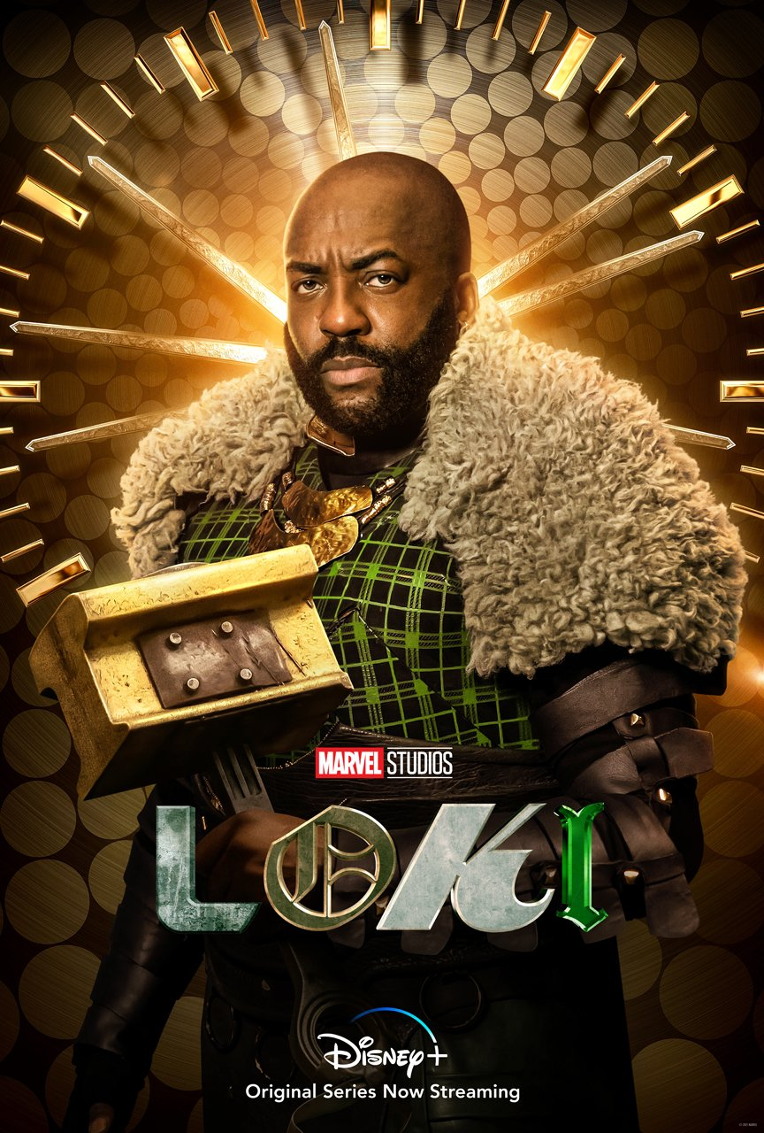 Boastful Loki Character Poster