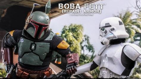 Hot Toys Boba Fett Repaint Armor