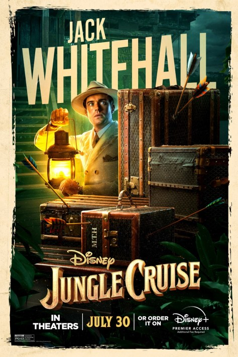 Jungle Cruise Jack Whitehall Character Poster 2