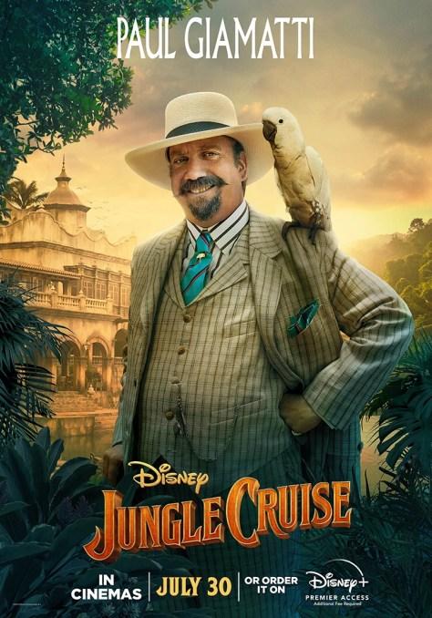 Jungle Cruise Paul Giamatti Character Poster