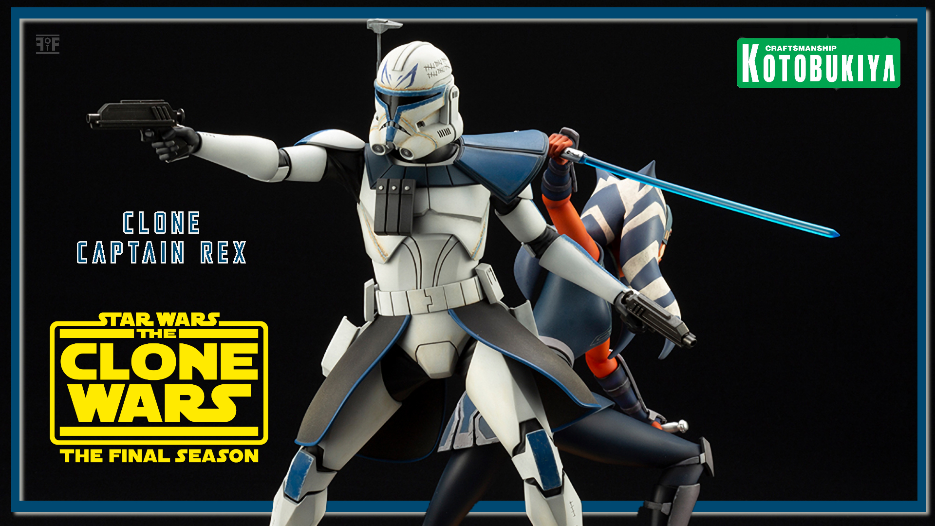 Star Wars: The Clone Wars Captain Rex Statue By Kotobukiya