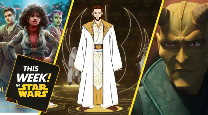 This Week In Star Wars | New Books Coming to The High Republic, A Step Out of the Shadows, and More!