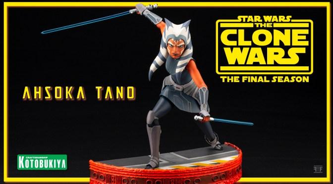 Star Wars: The Clone Wars Ahsoka Tano ARTFX Statue By Kotobukiya