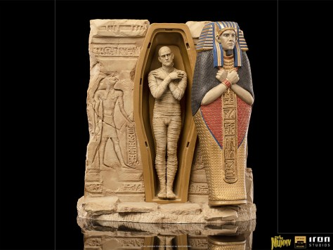 The Mummy Statue by Iron Studios DELUXE