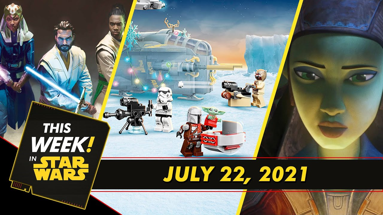 This Week In Star Wars | LEGO Counts Down to the Holidays, Vanessa Marshall Chats Hera Syndulla, and More!