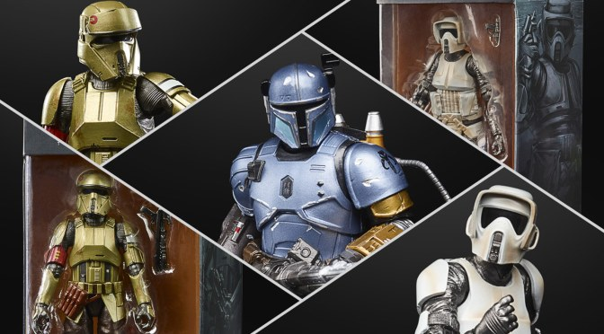 New Hasbro Black Series Carbonized Figures From The Mandalorian