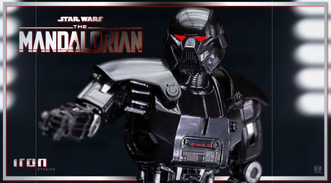 First Look | Dark Trooper (The Mandalorian) Statue By Iron Studios