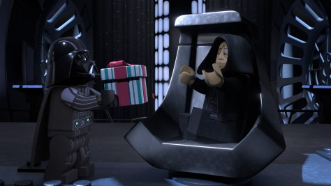 LEGO Star Wars Vader and Palpatine