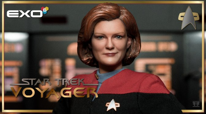 Energize Your Collection With The Star Trek Voyager Captain Kathryn Janeway Figure From EXO-6