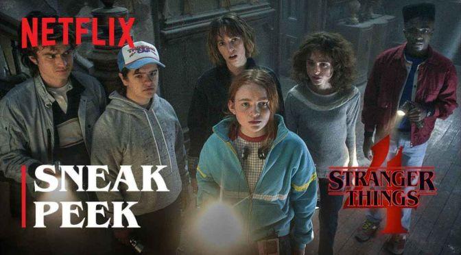 Stranger Things 4 Gets Sneak Peek Trailer!