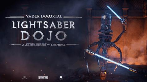 Star Wars: Vader Immortal Lightsaber Dojo