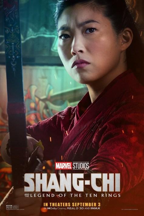 Awkwafina's Katy Shang-Chi Poster