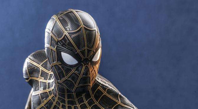 Hot Toys Updates The Black & Gold Spider-Man Figure!