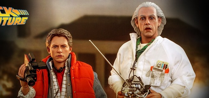 First Look | Hot Toys Is Going Back to the Future with Doc Brown & Marty McFly