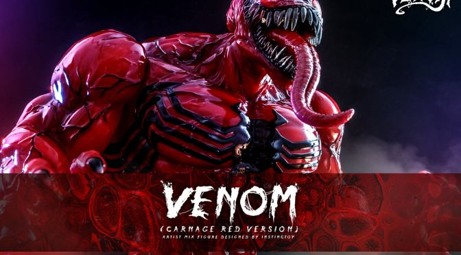 First Look | Hot Toys Venom (Comic) (Carnage Red Version)