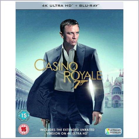 Casino Royale James Bond 4K UHD