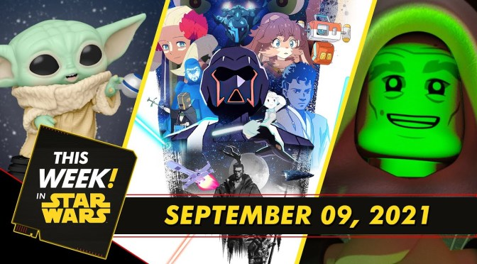 This Week In Star Wars | Grogu Invades New York, Terrifying Tales with LEGO, and More!