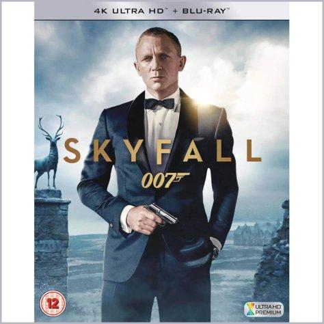 Skyfall James Bond 4K UHD