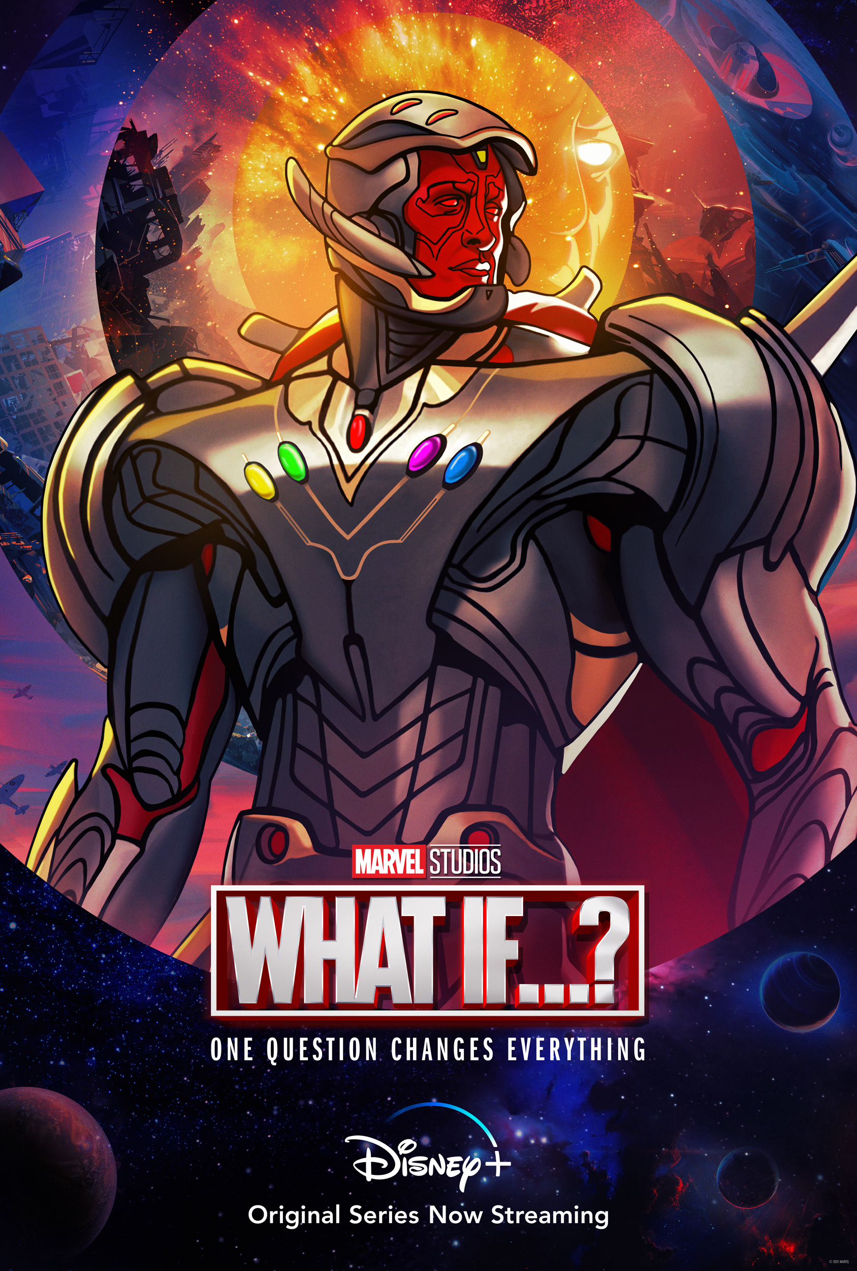What If...? Ultron Character Poster