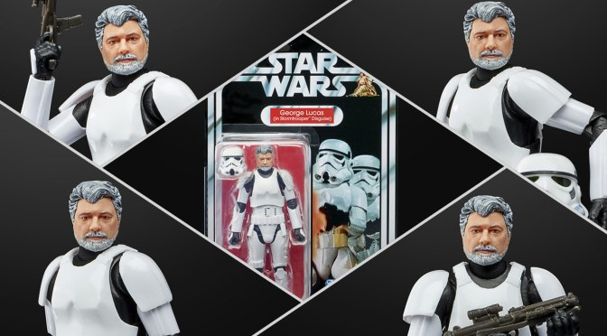 George Lucas In Stormtrooper Disguise Coming To Hasbro's Star Wars Black Series