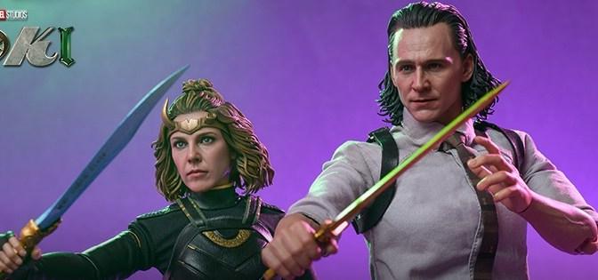 First Look | Hot Toys Marvel Studios' Loki & Sylvie