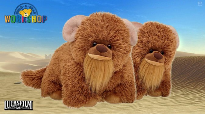 New Fuzzy Bantha Coming From Build-A-Bear Workshop