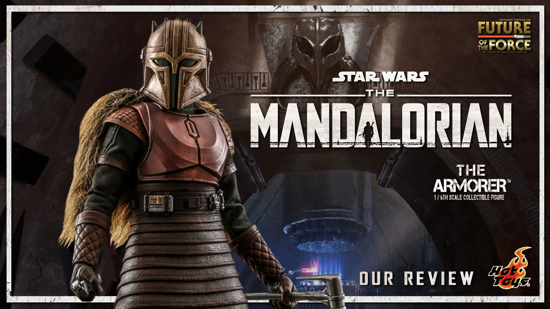 Hot Toys Review | The Armorer (Star Wars: The Mandalorian)