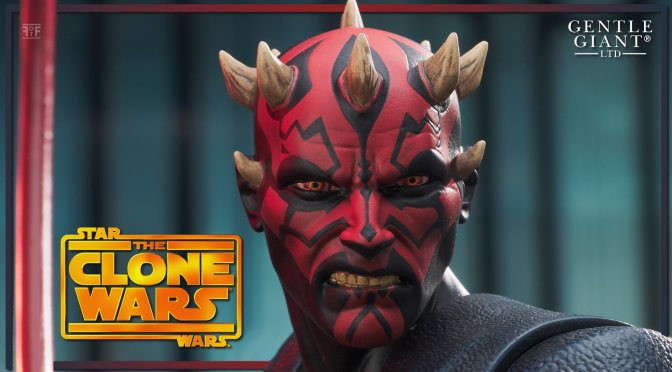 First Look | Star Wars: The Clone Wars Darth Maul Statue By Gentle Giant