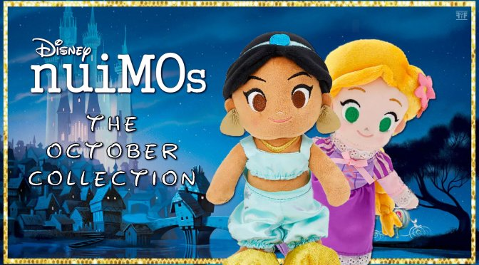 October's Disney nuiMOs Collection Brings A Happy Ending!