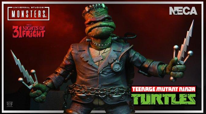 Universal Monsters x Teenage Mutant Ninja Turtles: Raphael as Frankenstein's Monster by NECA