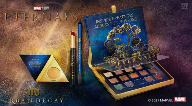 The Urban Decay X Marvel Eternals Collection Has Arrived!