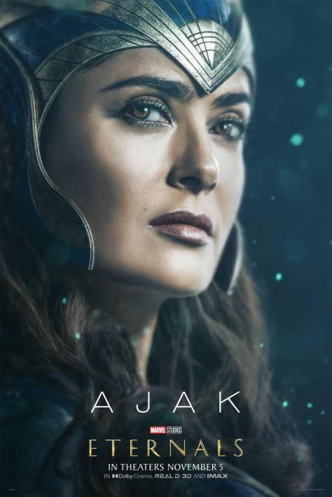 Eternals Character Poster Salma Hayek as Ajak