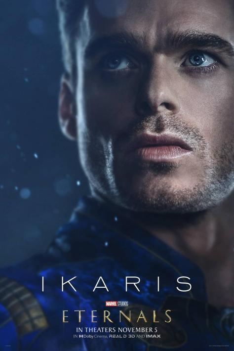 Eternals Character Poster Richard Madden as Ikaris