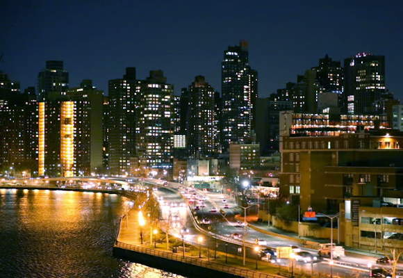 The skyline of Harlem, where the CUNY School of Public Health and CUNY dietetic internship have offices