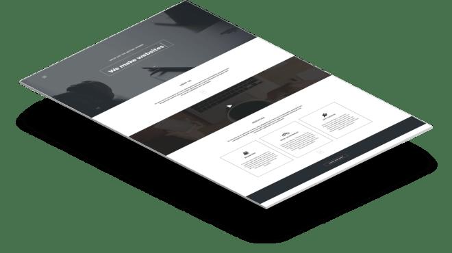 Arcadia | Адаптивный HTML шаблон портфолио