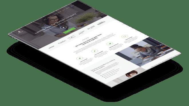 Startr | Бесплатный шаблон Landing Page, который идеально подойдет для стартапов