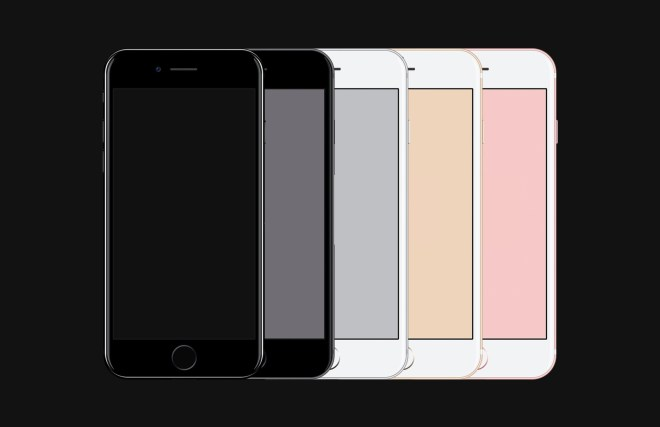 iPhone 7 - Free PSD Mockup