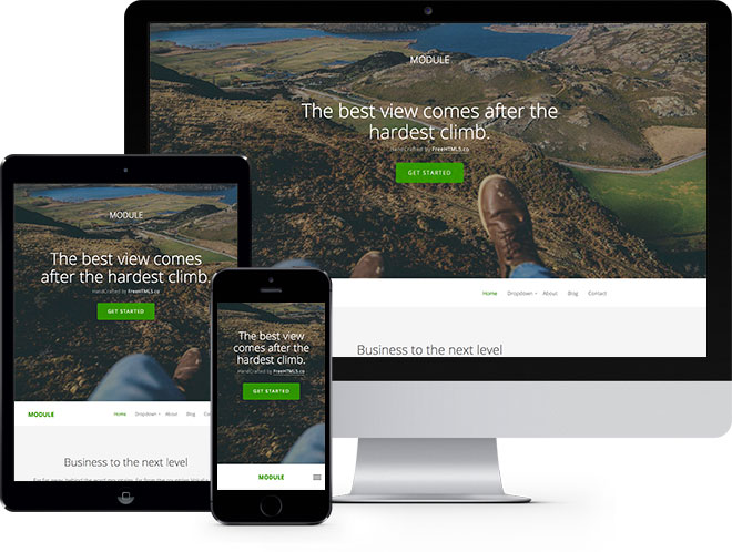 Module | Бесплатный многоцелевой HTML5 шаблон сделанный на Bootstrap