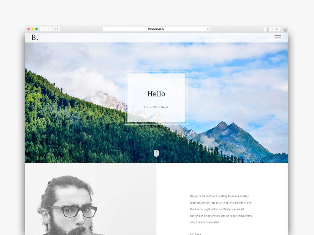 Bodo A free HTML Personal Portfolio template