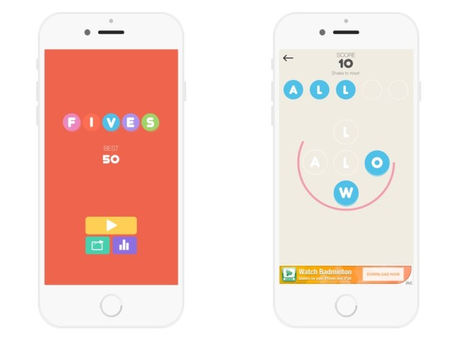 FIVES - iOS Multi Language Word Game Template (Swift)