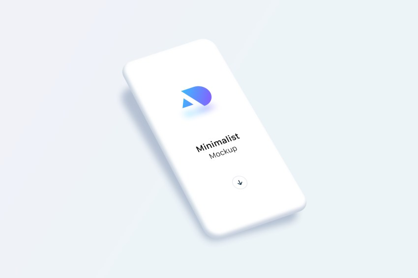 Free minimalist phone mockups for Sketch (v. Light)