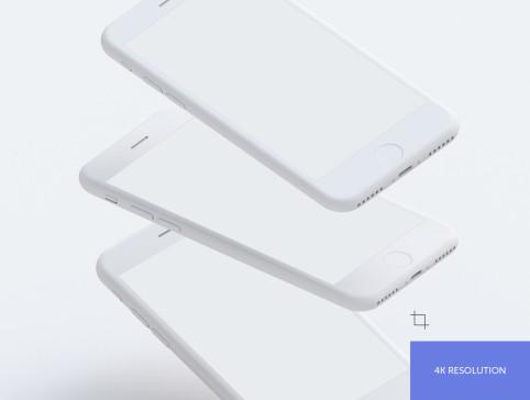 Simple Mockups – 9Бесплатных PSD мокапов iPhone